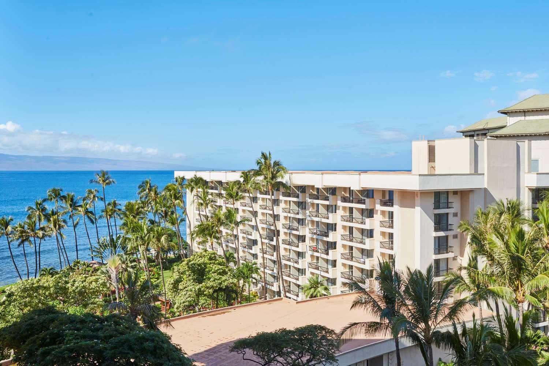 Exterior of a Hyatt hotel in Hawaii